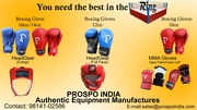 BOXING EQUIPMENT EXPORTERS