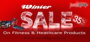 Huge Discount on Fitness and Healthcare Products