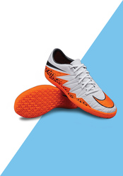 Fashionothon Nike Hypervenom Phelon II Indoor Wolf Gray Black Total Or