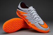 Nike Hypervenom Phelon II Indoor Wolf Gray Black Total Orange