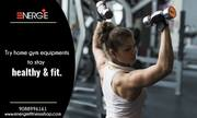 Stay Fit with Energie Fitness Shop's Home Fitness Equipment